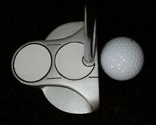 FACE-ON SIDE SADDLE TWO BALL PUTTER, CENTER SHAFT HEADCOVER CHOOSE LENGTH