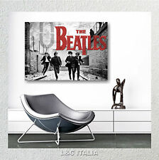 The Beatles 9 QUADRO INTELAIATO MODERNO O STAMPA SU TELA ASTRATTO ARREDAMENTO