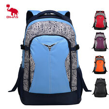 Oiwas 14'' Laptop Backpack Computer Outdoor Travel Hiking Camping School Bag