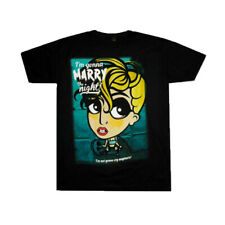 LADY GAGA Marry The Night 2013 US Tour Official Black T-Shirt