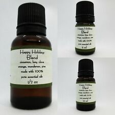 Holiday 100% Pure Essential Oil Blend Buy 3 get 1 FREE add 4 to cart