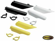 Ufo Fork Guards Cover Guard Plastic Fits Suzuki Rm125 Rm250 Rmz450 2004-2006