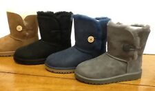 UGG BAILEY BUTTON boots girls/ KIDS- GIRLS NEW AUTHENTIC SIZES 13-6
