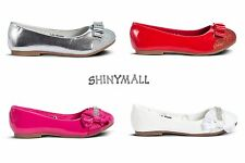 Girls Toddlers Youth Pageant Party Mary jane Dress Flat Shoes White Reds Silver