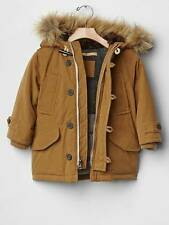 Baby Gap NWT Warmest Tan Caramel Snorkle Jacket Coat 2 3 4 5 Years NEW