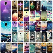 Hot Fashion Cover For Samsung Galaxy S4 S5 Cool Various Beauty Scenery Case Skin