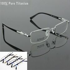100% Pure Titanium Spectacles Men Glasses Optical Eyeglass Frame Eye-wear # 9910