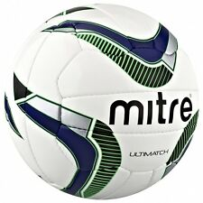 Mitre Ultimatch Match Football Top Quality Football Size 3 4 5