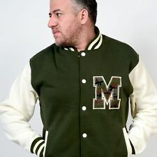 NWT Mens Varsity Letterman College Jacket SIZE S, M, L, XL Baseball Jacket
