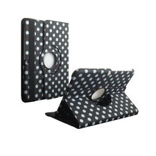 "360 Rotating Polka Dot Cover Case for Samsung Galaxy Tab 3 10.1"" P5200/P5210"