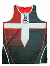 St Kilda Saints AFL Footy Mens Training Singlet Tank Top