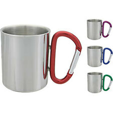 Aloe Gator Carabiner Mug - Great For Clipping On Backpacks, Ideal For Camping