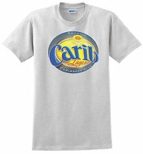 Carib Beer T-shirt. Trinidad W.I. Ash, Khaki, Yellow, White. S - 3-XL all cotton