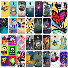 Various Pattern Colored Drawing Phone Case Cover Skin For Samsung Galaxy S4 S5