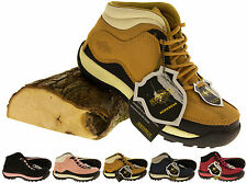 Ladies Leather NORTHWEST TERRITORY Walking Expedition Hiking Trekking Boots 3-8