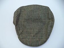 New Irish green grey tweed tailor cap Hanna Hat S - XXXL flat soft classic wool
