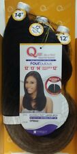 QUE INVISIBLE PART LAYER 4PCS BY MILKYWAY FOURBULOUS HUMAN HAIR MASTERMIX WEAVE