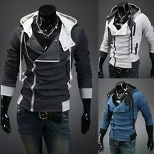 New Assassin's Creed 3 Desmond Miles Hoodie Costume Coat Jacket Cosplay Hoodie