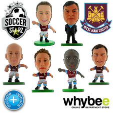 WEST HAM UNITED FC SOCCERSTARZ FOOTBALL FIGURES -OFFICIAL HAMMERS SOCCER STARZ