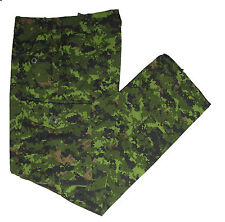 Canadian Cadpat Pants / Issued Cadpat NYCO Fabric / Rare