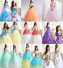 BREATHTAKING PUFF DESIGNS Evening Prom Homecoming Princes Dress Formal Ball Gown