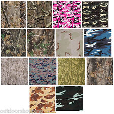 High Quality Camouflage Bandana - Motor Cycle, Bikers, Recreational Use