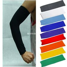 Basketball Outdoor Sport Stretch Arm Sleeves Muscles Elbow Wrist Brace Support A