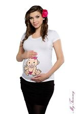 Maternity clothes t-shirts funny tops Pregnant t shirt Baby Girl size M, L, XL