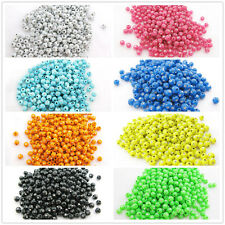Free shipping 100PCS 5MM PS Plastic Beads Loose Beads for Jewelry making DIY