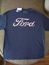 Ford Motor Company Vintage Distressed Logo T-shirt_Licensed_Brand New with tags