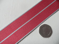 BEM [British Empire Medal] Replacement Ribbon, Full Size [32mm]. Free Postage.