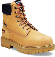 Mens Timberland PRO 65016 6-Inch Waterproof Steel Toe Safety Boots Wheat (D, M)