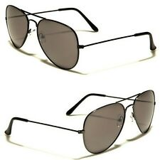 Green Lens Retro Vintage Aviator Sunglasses for Men Black Silver Glasses Cheap