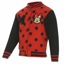 DISNEY MINNIE MOUSE:GORGEOUS BASEBALL JACKET,2/3,3/4,4/5YR, NEW WITH TAGS