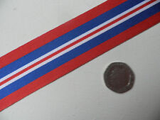 1939-45 War Medal, WWII,  Replacement Ribbon, Full Size [32mm]. Free Postage.