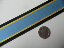 Aircrew Europe, WWII medal,  Replacement Ribbon, Full Size [32mm]. Free Postage.