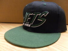 OFFICIAL NEW YORK JETS SNAPBACK HAT * BLACK/GREEN * ONE SIZE *BARGAIN BUZZ PRICE