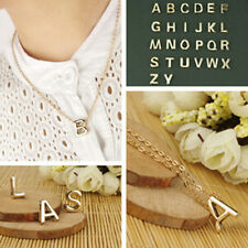 Hot Women Lady 26 English Letter A To Z chain Pendant New Style Necklace Simple