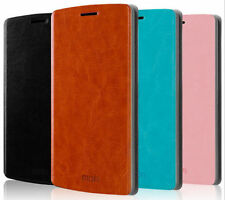 New MOFI Leather PU Flip Case Mobile Phone Cover For Nokia Lumia 730 735