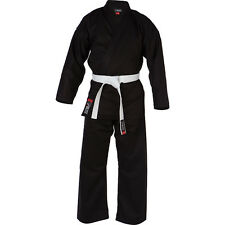 Blitz Kids Cotton Student Karate Suit (gi) in Black