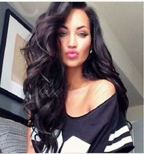 Soft  Malaysian Lace Front/Full wigs 100% human Remy Hair curly  4 color  curly