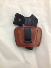 Leather Concealment Gun Holster - RUGER LCP with or  without Laser  (#036)