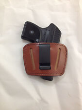 Leather Concealment Holster - RUGER LCP with or without Laser / KEL-TEC (#036)
