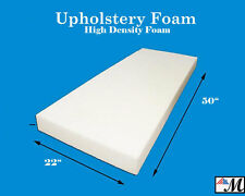 "Seat Foam Cushion Replacement Upholstery Per Sheet - All Sizes! 22""x50"""