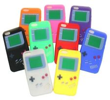 For iPhone SE 5S 5C - Soft Rubber Silicone Skin Case Cover Gameboy Player