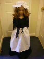 GIRLS VICTORIAN /TUDOR/MEDIEVAL /EDWARDIAN FANCY DRESS COSTUM 5/6 8/10 11/13