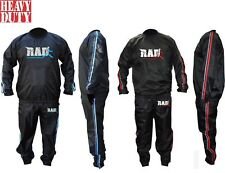 RAD™  Sweat Sauna Suit Gym Training Track Suit Unisex Slimming Weight Loss New
