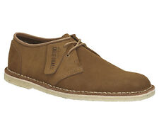 Clarks Originals Mens Jink Cola Suede Lace Up Suede Shoe