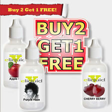 E Liquids ejuice Vapor eliquid Best E Juice Buy2GetOne FREE  10ml USA wholesale