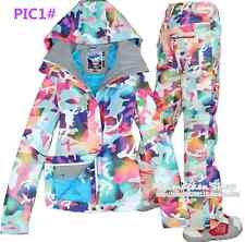 HOT 2014 NEW Girls Women's ski snowboard snow jacket Coat and pants XS-L